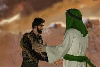 انیمیشن/ وصال عاشورایی شهید حججی و امام حسین علیه السلام