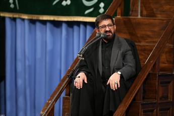 فیلم/ مداحی حاج مرتضی طاهری در حضور رهبر انقلاب