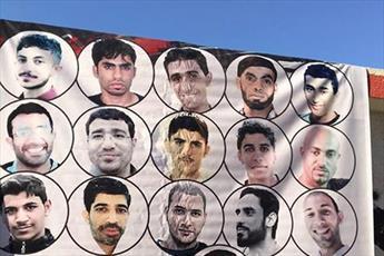 تصاویر شهدای انقلاب بحرین با هیئت های عزاداری همراه شد