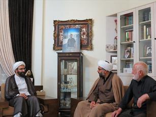 دیدار مدیر حوزه علمیه تهران با خانواده شهید پورهنگ