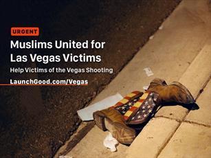 مسلمانان کمپین کمک به قربانیان تیراندازی لاس وگاس تشکیل دادند