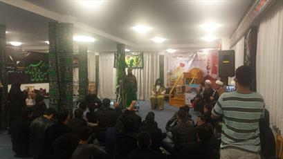 برگزاری آیین تعزیه خوانی در مرکز اسلامی برلین