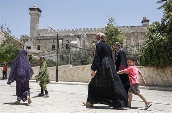 رژیم صهیونیستی درهای مسجد ابراهیمی را به روی مسلمانان بست