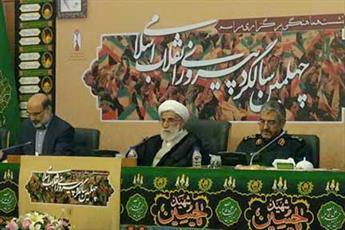 برخی در داخل کشور از امثال شهید حججی عصبانی اند/ دشمن از توپ و تانک ما به اندازه انقلابیگری نمیترسد