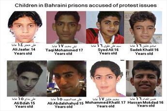 آل خلیفه با زندانی کردن کودکان قوانین بین الملل را زیر پا میگذارد