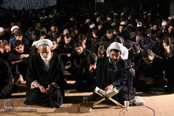تصاویر/ مراسم دعای کمیل در جوار شهدای گمنام مدرسه علمیه معصومیه