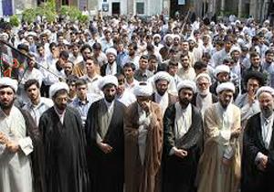 تجمع اعتراضی طلاب تبریزی به سخنان ضدایرانی ترامپ
