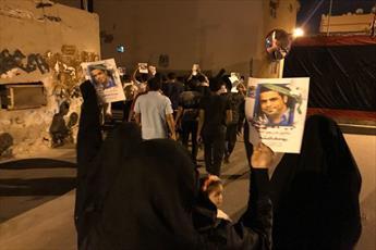 مردم بحرین در حمایت از شهدا تظاهرات کرده و خواستار سرنگونی آل خلیفه شدند