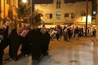مردم بحرین در همبستگی با رهبران و انقلابیون زندانی تظاهرات کردند