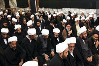 همایش بزرگ مبلغان اربعین حوزه علمیه نجف اشرف برگزار شد