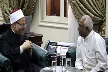 مفتی میانمار با مفتی مصر دیدار کرد
