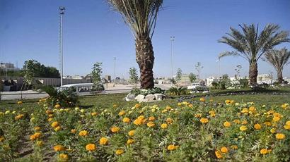 آستان مقدس حسینی از زائران اربعین با پنجاه هزار گل استقبال میکند