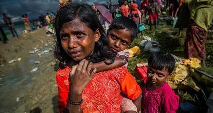 معترضان آمریکایی خواستار توقف نسلکشی مسلمانان روهینگیا شدند