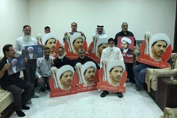 خانواده های شهدای بحرین با شیخ علی سلمان اعلام همبستگی کردند
