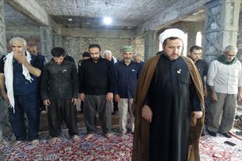 برپایی  ایستگاه فرهنگی حوزه علمیه قزوین در کربلای معلی