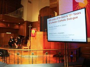 کلیسای مسیحیان لوتری در پایتخت آمریکا «نشست میان ادیانی» برگزار کرد