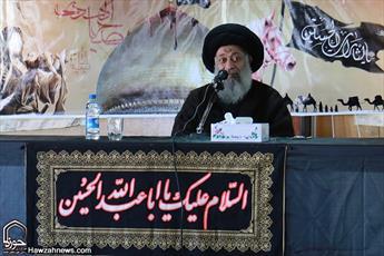 آیت الله موسوی جزایری در جمع مبلغین سوری: رمز پیروزی ملت ایران استقامت  با توکل  است
