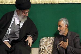 رهبر معظم انقلاب درگذشت پدر سردار سلیمانی را تسلیت گفتند