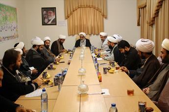 جلسه هم اندیشی معاونین تبلیغ شهرستانهای ایلام برگزار شد