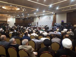 مراسم اختتامیه دومین اجلاس بین المللی علمای مقاومت در بیروت آغاز شد