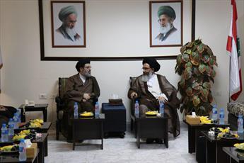 دیدار نماینده مقام معظم رهبری در سوریه با مقام ارشد حزبالله