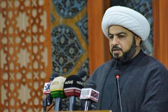خطیب جمعه بغداد:   خدمات فکری و فرهنگی اربعین بسیاری از توطئه های شیطانی را ناکام گذاشته است