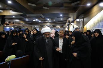 تصاویر/ حضور   بانوان طلبه  همدانی در مرکز فقهی ائمه اطهار(ع) قم