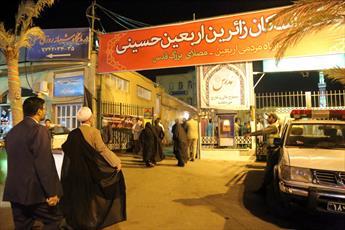 تصاویر/ بازدید آیت الله اعرافی از محل اسکان زائران اربعین حسینی(ع) در قم