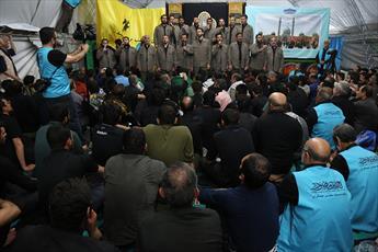 برگزاری محفل باشکوه انس با قرآن کریم در موکب مسجد مقدس جمکران