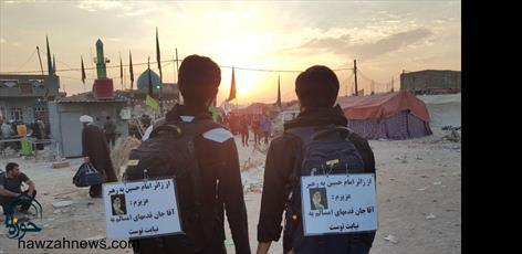 اجرای طرح «زیارت به نیابت» در مدرسه علمیه امام خامنهای اهواز