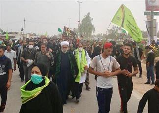 حضور کاروان مرکز اسلامی هامبورگ در حماسه بزرگ راهپیمایی اربعین حسینی+ تصاویر