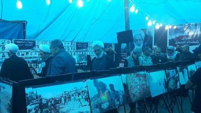 زائران اربعین از دیدن تصاویر شهدای بحرین شگفتزده شدند/ فدائیان بعثی صدام، اکنون مزدوران آل خلیفهاند