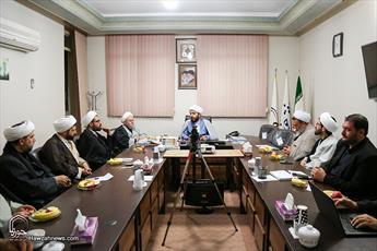 نشست مسئولان رسانه حوزه با جمعی از مدیران مدارس قم برگزار شد