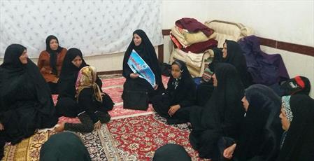 خدمت رسانی  مدرسه  ریحانه الرسول(س) تربت حیدریه به ۱۸۰۰ زائر پیاده رضوی