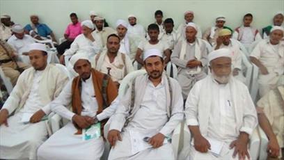 علمای یمن نشستی را برای برگزاری میلاد رسول اکرم (ص) برگزار کردند+ تصاویر