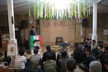 تصاویر/ یادواره شهدای مدافع حرم در مدرسه علمیه بقیةالله  قم