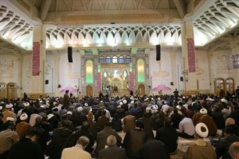 مراسم شکرانه پیروزی مقاومت بر ایادی استکبار در قم برگزار شد