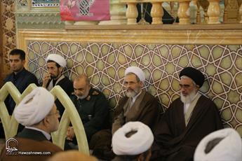 تصاویر/ مراسم گرامیداشت آغاز امامت حضرت ولیعصر(عج) و شكرانه پيروزی محور مقاومت