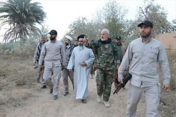 بازدید نماینده مقام معظم رهبری از مناطق آزاد شده سوریه+ تصاویر