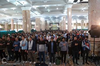 همایش عصر آفتاب و اجتماع ۴هزار دانشجوی مهدی یاور در مسجد جمکران برگزار شد