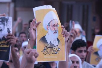 جریان حق و العمل الاسلامی مردم بحرین را به حمایت از شیخ عیسی قاسم فرا خواندند