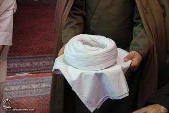 طلاب زنجان ملبس به لباس مقدس روحانیت شدند