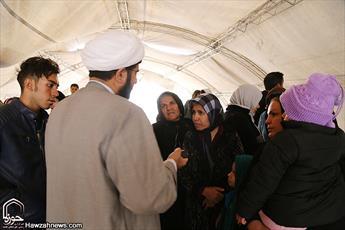 کمبود شدید  روحانی در مناطق زلزله زده روستایی / مردم زلزله زده خود را مدیون تلاشهای مبلغان می دانند