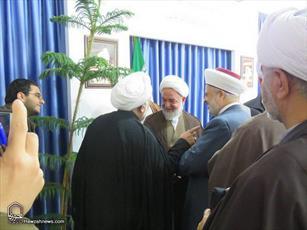 تصاویر/بازدید جمعی از علمای لبنان  از مدرسه علمیه امام خمینی بجنورد و دیدار با مسئولان حوزه