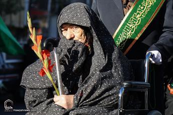 بالصور / استقبال القافلة الرمزية للسيدة فاطمة المعصومة (ع) في ذكرى وصولها إلى مدينة قم المقدسة