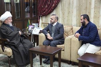 آیت الله نابلسی از تلاش های ایران در یاری لبنان تشکر کرد
