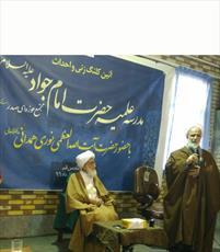 کلنگ مدرسه علمیه امام جواد(ع) در پردیسان  به زمین زده شد