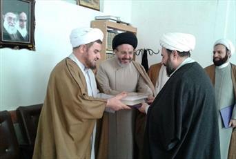 رئیس جدید اداره تبلیغات اسلامی آذرشهر معرفی شد