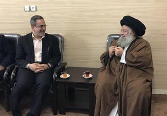 دیدار وزیر آموزش و پرورش با آیت الله موسوی جزایری
