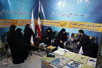 تصاویر/ غرفه رسانه حوزه در پنجمین روز نمایشگاه دستاوردهای مراکز پژوهشی حوزوی